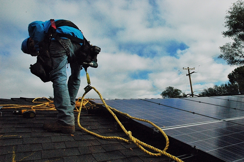 Installing solar panels is an effective strategy.
